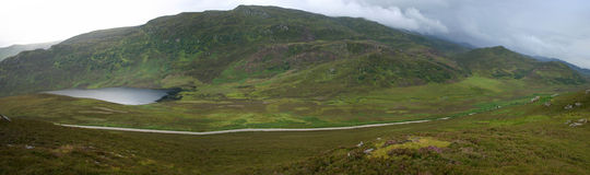 Irgendwo in Schottland Stockbilder