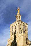 Irgin Mary statue in Avignon,  France Royalty Free Stock Images