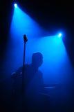 Iride, banda rock rumena Fotografia Stock