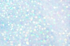 Soft Background Light. Small  spots of out of focus light reflections with iridescent colors Royalty Free Stock Photo