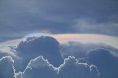 Iridescent clouds Royalty Free Stock Photos