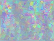 Iridescent Geometric Background Royalty Free Stock Photography