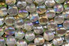 Iridescent glass beads Stock Photography