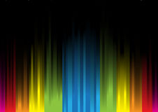Iridescent light on a black background3 Royalty Free Stock Images
