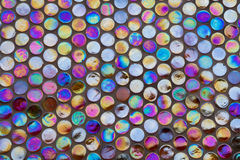 Iridescent mosaic Stock Images