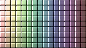 Iridescent mosaic wall tiles. Little tiles wall background. Iridescent colors Royalty Free Stock Photo
