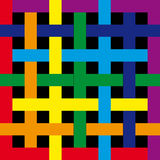 Iridescent square. Template for designers, a background for the text Royalty Free Stock Images