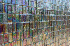 Iridescent tile 2 Stock Photo