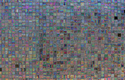 Iridescent tile 4 Stock Photos