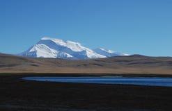 Iriki Nani peak. A vision  of Iriki Nani peak  and Ghost lake Stock Photo