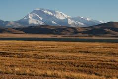 Iriki Nani peak. A vision  of Iriki Nani peak  and Ghost lake Royalty Free Stock Image