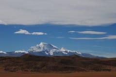 Iriki Nani peak. A vision  of Iriki Nani peak Royalty Free Stock Photos