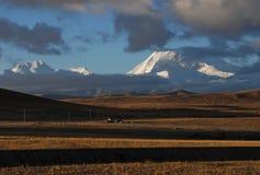 Iriki Nani peak. A  morning vision  of Iriki Nani peak Royalty Free Stock Photo