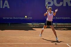 Irina Begu forehand Stock Images