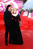 Irina Grineva at XXXVI Moscow International Film Festival Royalty Free Stock Photos