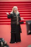 Irina Miroshnichenko sur le festival de film international de Moscou du tapis rouge 37 Images stock