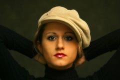 Irina's portrait Stock Photo
