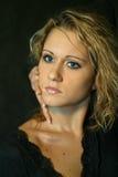 Irina's portrait Stock Photos