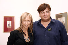 Irina Schrotter and Razvan Ciobanu Royalty Free Stock Photo