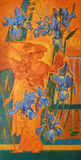 Iris και κήπος Ίντεν Στοκ εικόνα με δικαίωμα ελεύθερης χρήσης