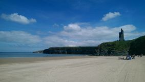Iris Beach. A tranquil day on an Irish beach Royalty Free Stock Photo