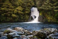 Iris Burn Waterfall Royaltyfria Foton