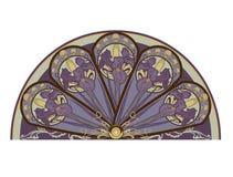 Iris decor Royalty Free Stock Images
