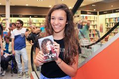 Iris Ferrari Youtuber, Italia Fotografía de archivo libre de regalías