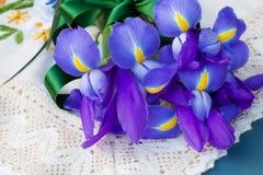 Irisblumen Stockfoto