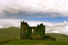 Irisch ruin. Ruin of an irisch castle Royalty Free Stock Image