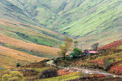 Irische Connemara Landschaft Lizenzfreies Stockfoto