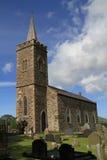 Irische Dorfkirche Lizenzfreie Stockbilder