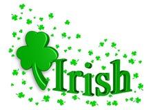 Irische Feier Stockfoto
