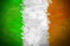 Irische Flagge Stockbild