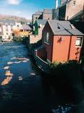 Irische Häuser Stockfotos