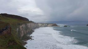 Irische Küste und Ozean Stockfotografie