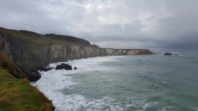 Irische Küste und Ozean Lizenzfreie Stockbilder