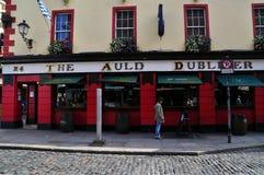 Irische Kneipe Dublin Lizenzfreie Stockbilder
