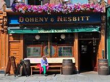Irische Kneipe Dublin Stockfoto