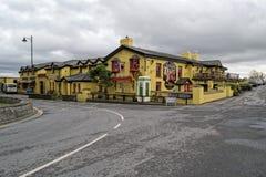 Irische Kneipen in Bunratty lizenzfreies stockfoto
