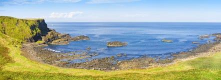 Irische Landschaft in Nordirland-Grafschaft Antrim - vereinigter König lizenzfreies stockbild