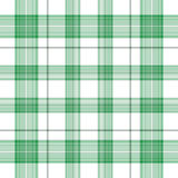 Irische Plaid-Shamrocks Lizenzfreies Stockbild