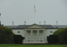 Irische Präsidenten Residence in Dublin Ireland Stockbild
