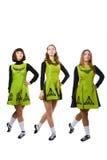 Irische Tänzer Stockfotografie