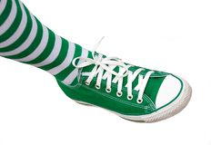 Irischer Fuß Lizenzfreie Stockbilder