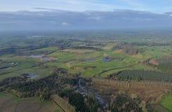 Irischer Golfplatz Stockbild