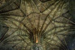 Irischer Kathedraleninnenraum stockfotos