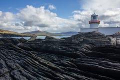 Irischer Leuchtturm Stockbild