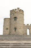 Irischer Schlossturm Stockfoto