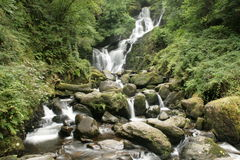 Irischer Wasserfall Stockfoto
